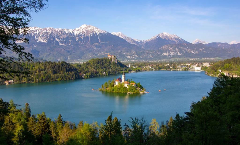 Visiter lac Bled Slovénie