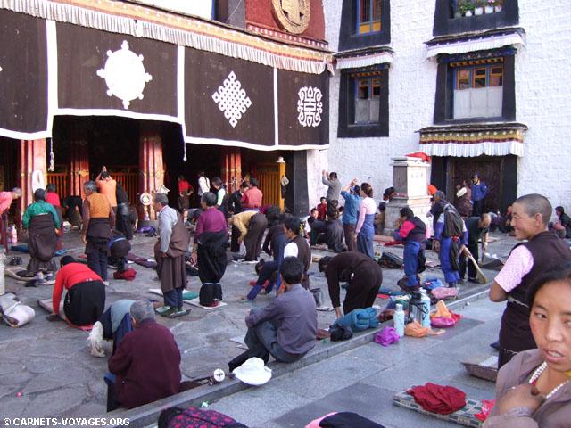 Jokhang lhassa tibet