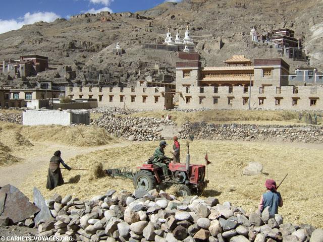monastère de Sakya tibet