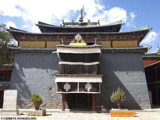 monastere shalu tibet