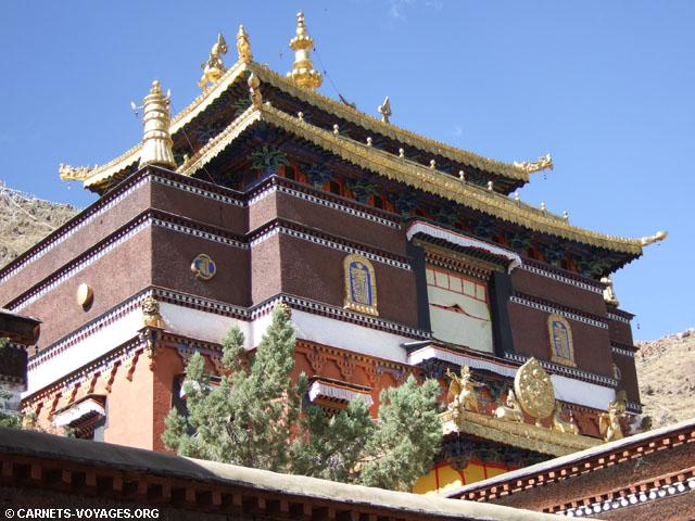 Monastère de Tashulimpo (Shigatsé Tibet)