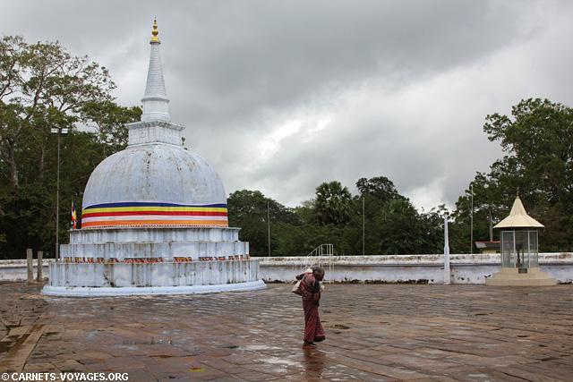 Anuradhapura dagoba Sri Lanka