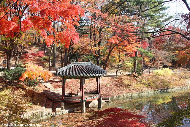 Jardin secret (Biwon) Séoul Corée du Sud