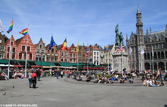 Le Markt Bruges Belgique