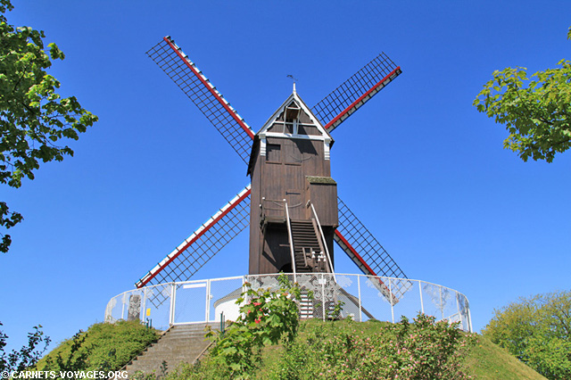 Moulin Saint-Jean Bruges Belgique