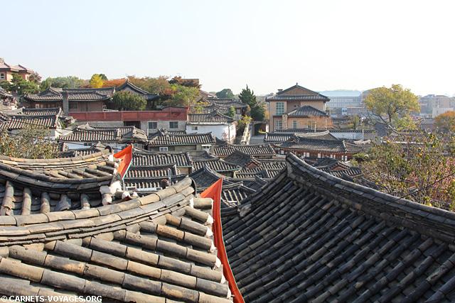 Séoul village hanok Bukchon