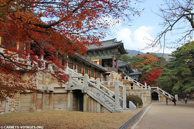 Temple Bulguk-sa Corée du Sud