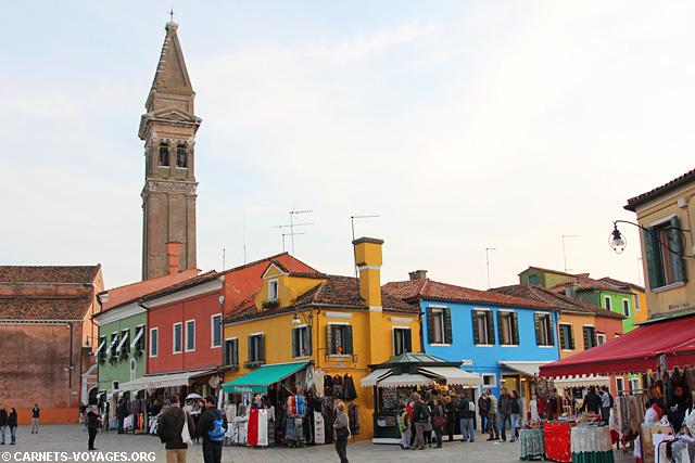 Visiter Burano Italie