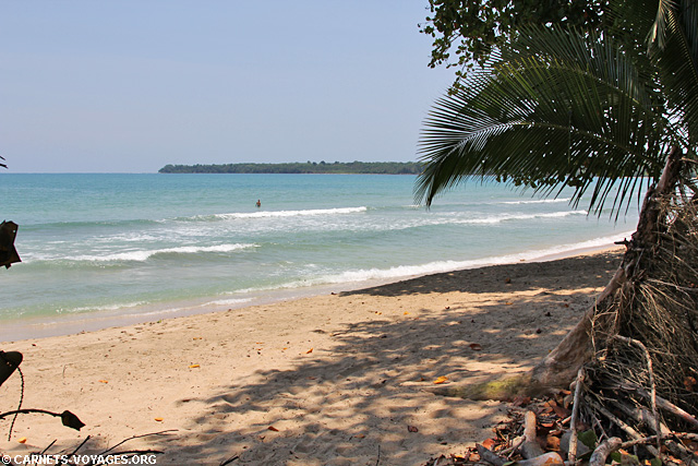 Playa Cocles côte Caraïbes Costa Rica