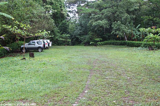 Parking Pulperia Carate parc Corcovado Costa Rica