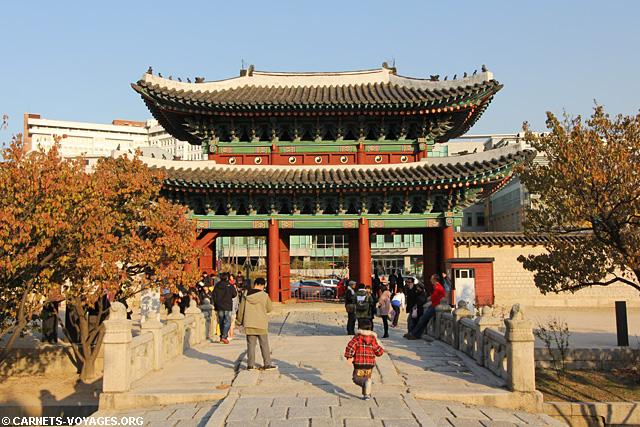 Palais Changgyeonggung Séoul Corée du Sud