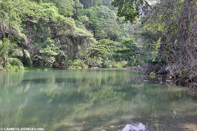 Rivière Parc Corcovado Costa Rica
