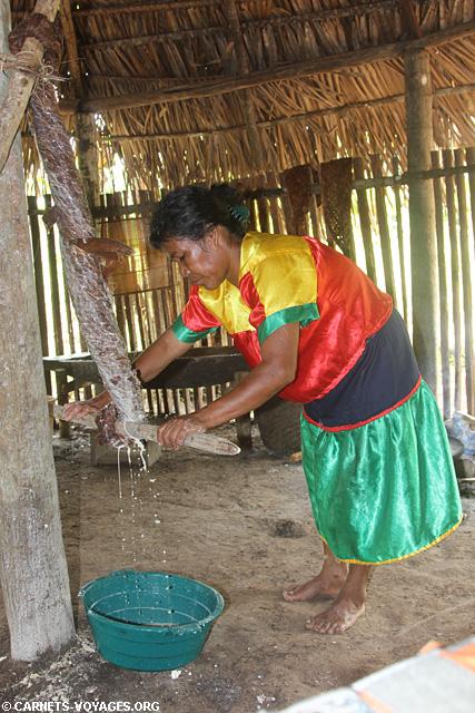 Réserve indienne amazonie équateur