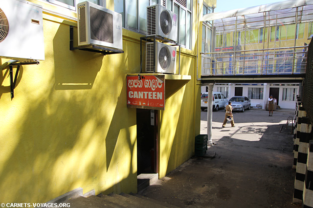 Le restaurant de Dambulla où poser son sac