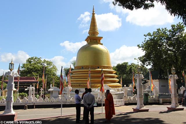Temple d'or Dambulla Triangle Culturel Sri Lanka