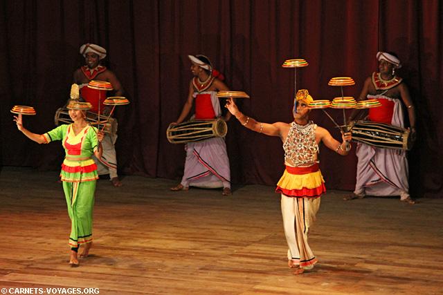 Spectacle de danse Kandy Sri Lanka