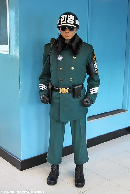 soldat sud coréen DMZ