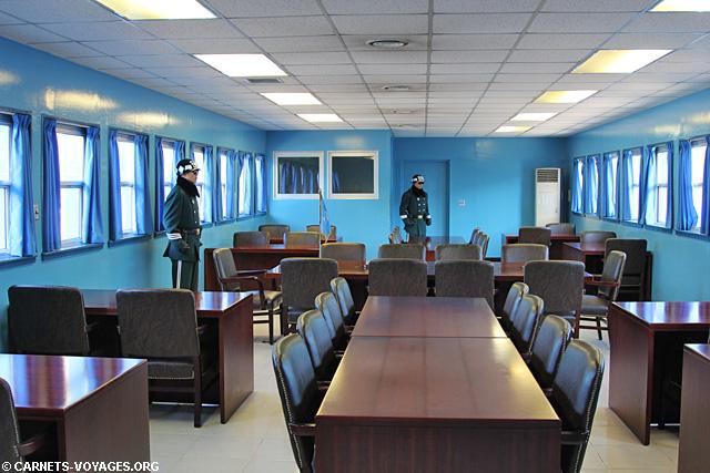 DMZ JSA Corée du Sud