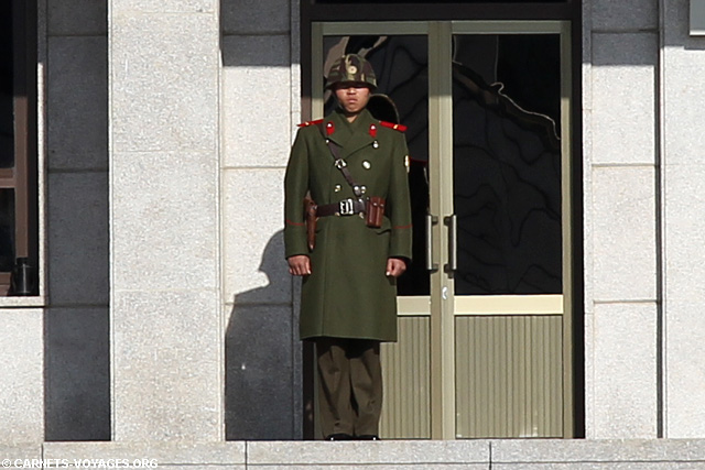 Soldar nord coréen DMZ JSA