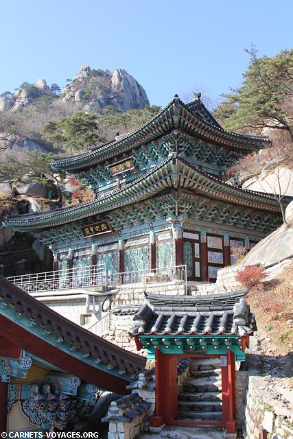 Temple parc Bukhansan