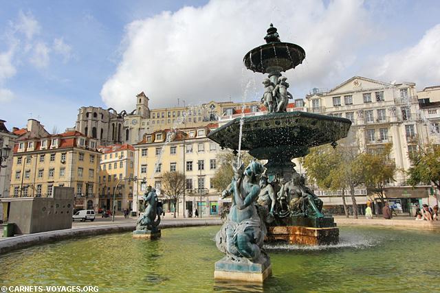 dom pedro à visiter à Lisbonne