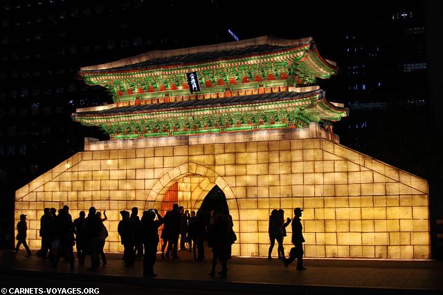 Festinal des lanternes Séoul Corée du Sud