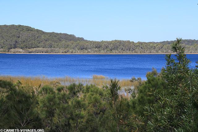Lac Birrabeen road trip Fraser Island Australie
