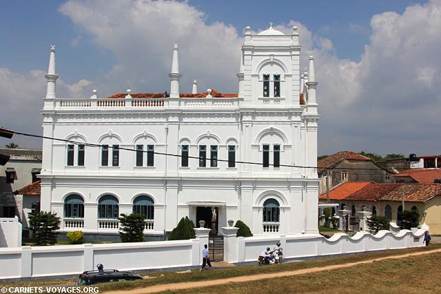 Fort de Galle Sri Lanka mosquée