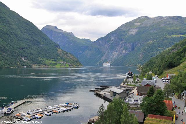 Fjord de l'Ouest Geiranger Norvège
