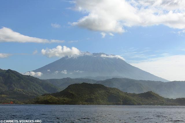 volcan Gunung Agung Bali