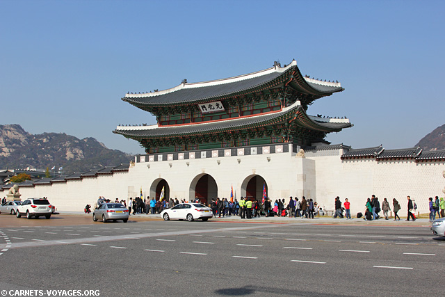 Palais Gyeongbokgung Séoul