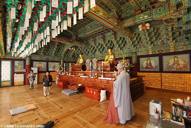 Temple Heinsa Corée du Sud