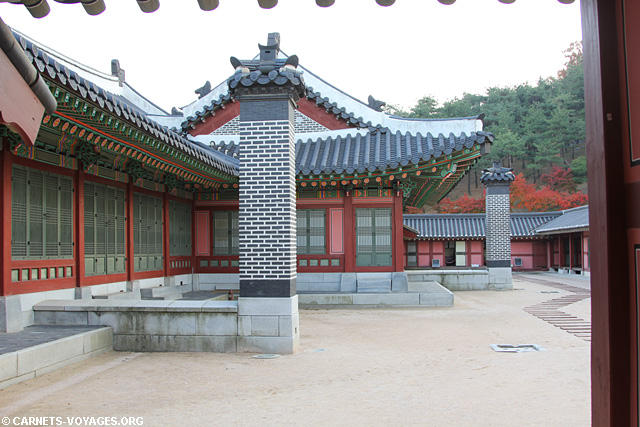 Palais Hwaseong Haenggung Suwon Corée du Sud