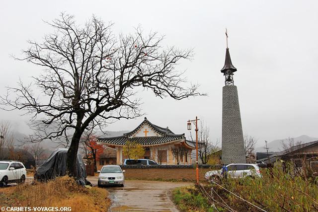 Village historique de Hahoe Corée du Sud