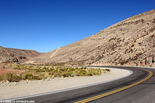 Quebrada Humahuaca boucle nord Salta Argentine