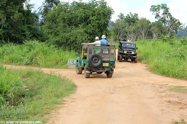 Jeep Hurulu Eco Park Sri Lanka
