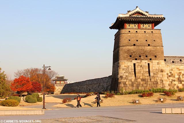 Forteresse de Hwaseong Suwon Corée du Sud