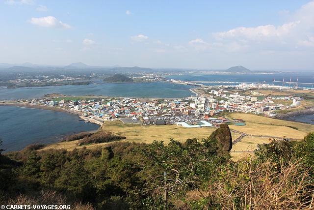 Seongsan Ilchulbong Jeju Corée du Sud