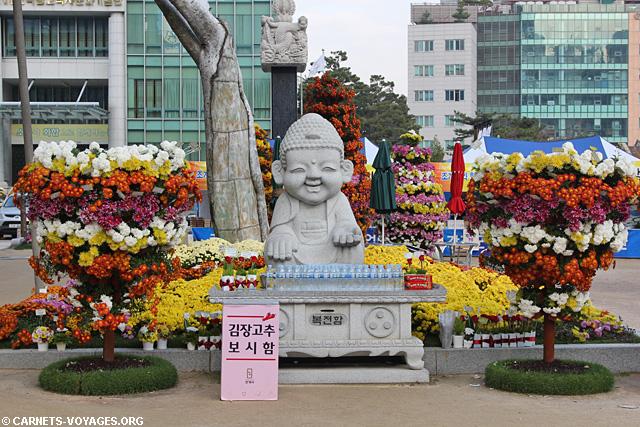Temple Jogye-sa Séoul Corée du Sud