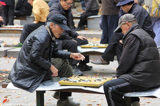 Joueur de go Séoul Corée du Sud