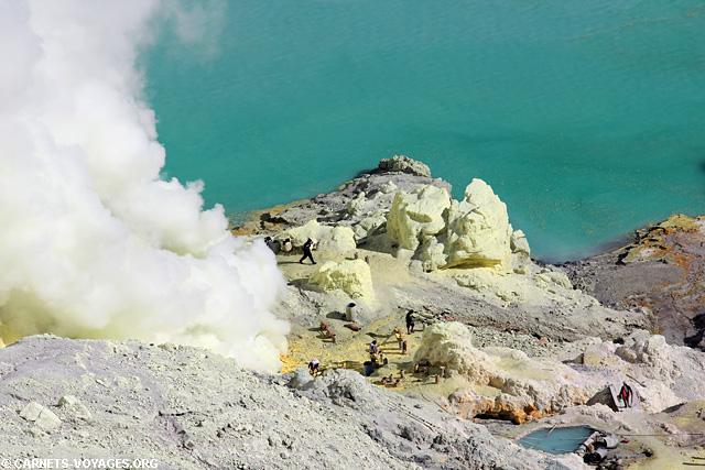 Volcan Kawah Ijen Indonésie