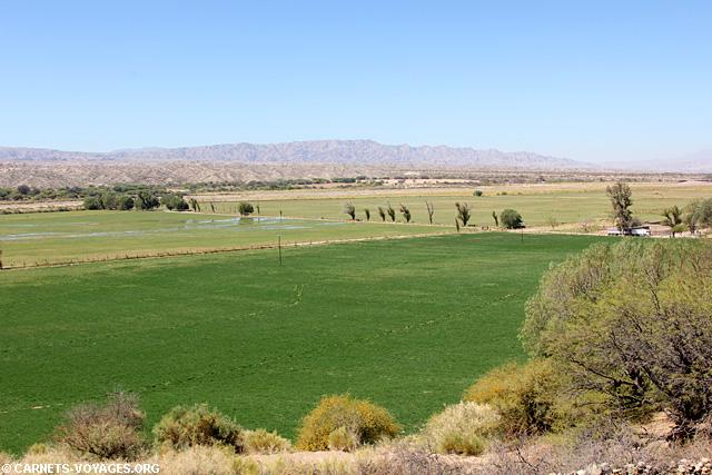 Molinos boucle sud Salta Argentine