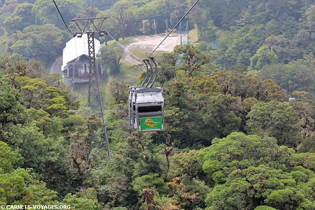 Skytram Monteverde Costa Rica