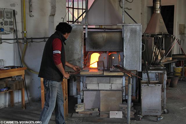 Souffleur de verre Merano Italie