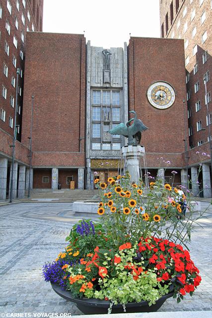 Hotel de ville Oslo Norvège