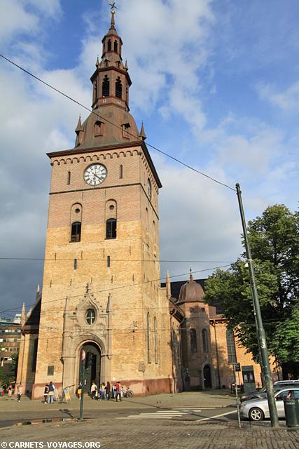 Cathédrale Oslo Norvège