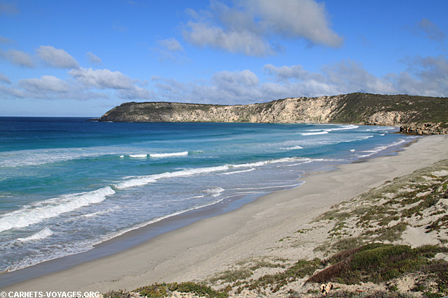Pennington Bay sur Kangaroo Island en Australie