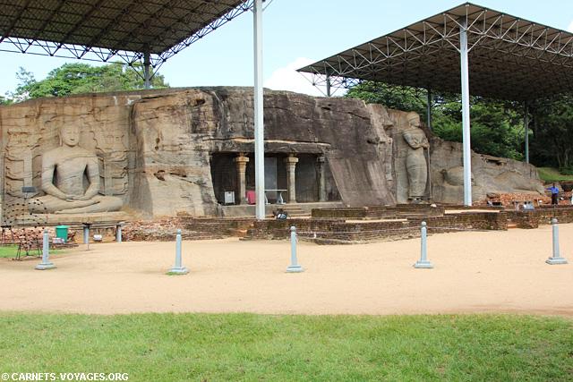 Sri Lanka Polonnaruwa ruine temple