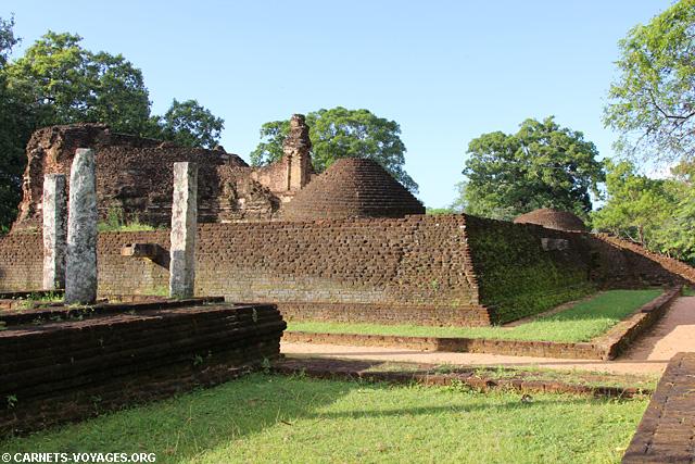 Triangle Culturel Sri Lanka Polonnaruwa ruine temple