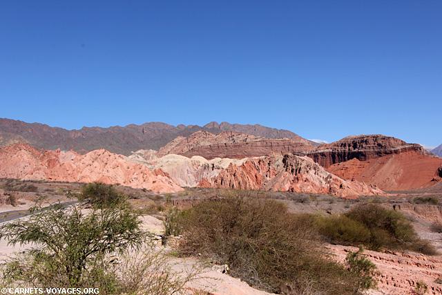 Quebrada Cafayate boucle sud Salta Argentine